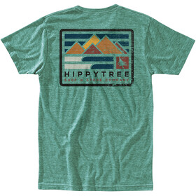 Hippy Tree Vancouver T-Shirt Homme, heather green